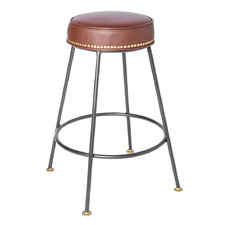 65cm Clifton Upholstered Counter Stool