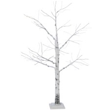 Birch Faux Christmas LED Tree