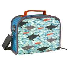 Shark Print Insulated Lunch Box
