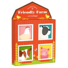 Friendly Farm Print Mini Library