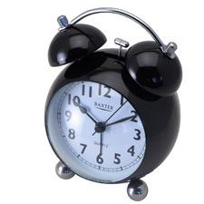 Large Bubble Metal Bell Alarm Clock