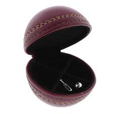 3 Piece Spinner Cricket Ball & Cufflinks Set