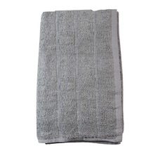 Silver Levarda Cotton Bathroom Towels