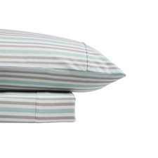 Stripe Thermal Flannelette Sheet Set