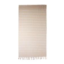 Dusty Pink Hampton Cotton Beach Towel