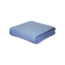 Pebble Weave Cotton Cot Blanket