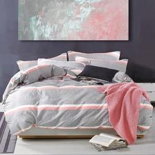 Georgia 250 Thread Count Cotton Quilt Cover Set