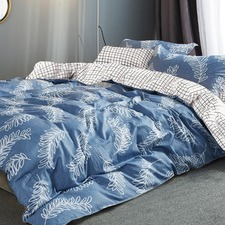 Heather 250 Thread Count Cotton Quilt Cover Set