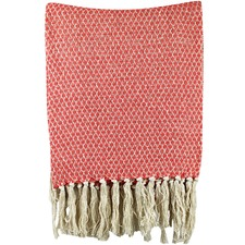 Argyle Cotton Throw