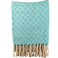Frangipani Cotton Throw