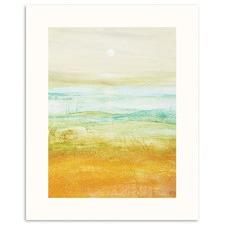 Mid Summer Moon Abstract Wall Art