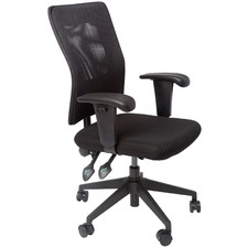 Black Gordana Mesh Adjustable Task Chair