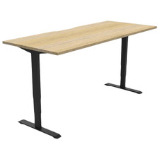 Natural Gregor Height Adjustable Desk