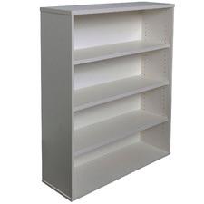 Light Grey Lawson Vibe 4 Shelf Bookcase