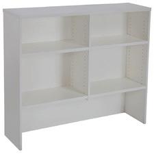 Light Grey Lawson Vibe 4 Shelf Desk Hutch