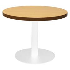 White Base Lawson Round Coffee Table