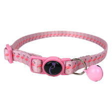 Pink Flamingo Cat Collar