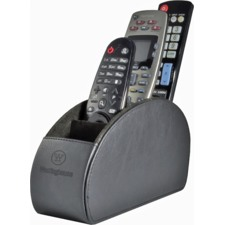Faux Leather Remote Control Holder