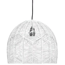 White Maggi Pendant Light