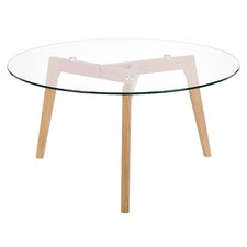 Glass Table Coffee Table.Round Coffee Tables Temple Webster