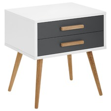 2 Drawer Vasby Bedside Table