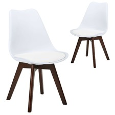 Walnut Nova Dining Chairs (Set of 2)