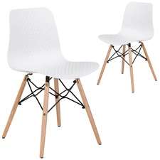 Eames Style Dining Chairs (Set of 2)