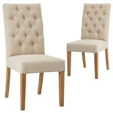 Bromley Linen Dining Chair (Set of 2)