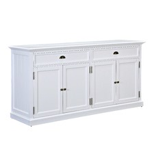 Large White Hamptons Sideboard Buffet