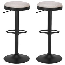 Elwood Adjustable Barstools (Set of 2)