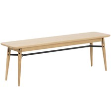 Oak & Metal Milo Dining Bench