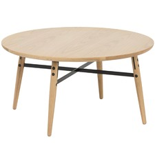 Oak & Metal Milo Coffee Table