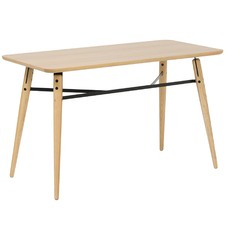 Oak & Metal Milo Console Table