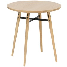 Oak & Metal Milo Side Table