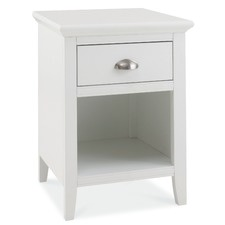 White Holmes Bedside Table