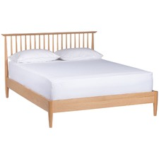 Queen Olsen Oak Spindle Bed