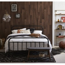 Black Bailey Metal Bed Frame