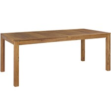 Palma Majorca Outdoor Timber Extension Dining Table