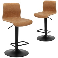 Boston Adjustable Barstools (Set of 2)