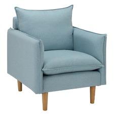 Sky Blue Hampstead Armchair