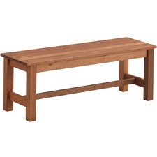 2 Seater Parklands Timber Outdoor Bench