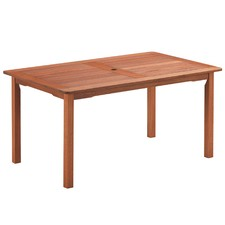 6 Seater Parklands Timber Outdoor Dining Table