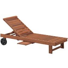 Parklands Timber Outdoor Sun Lounge