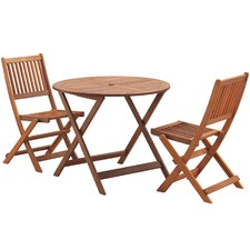Parklands 2 Seater Outdoor Dining Table & Chairs Set
