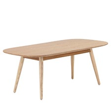 Ria Ash Rounded Coffee Table