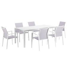 6 Seater Tahiti Outdoor Dining Set