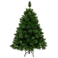 Natural Green Brighton Spruce Premium  Christmas Tree