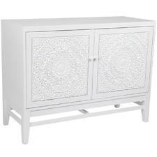 White Antonia Cabinet