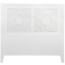 White Antonia Headboard