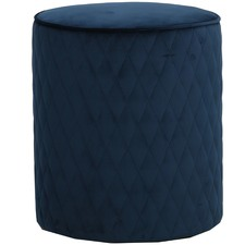 Olivia Quilted Ottoman